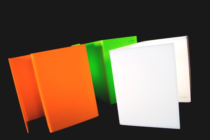 Lampada plexiglass da comodino moderna for Lampade design