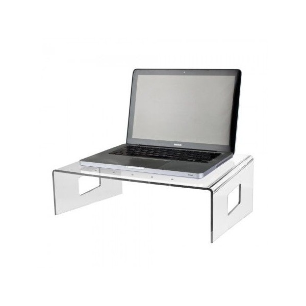 Tavolino supporto per pc portatile trasparente ufficio plexiglass per divano ebay - Tavolino da letto per pc ...