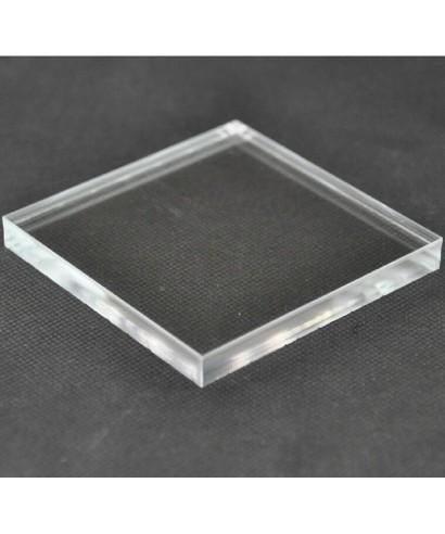 Piastre odontotecnici in plexiglass trasparente basette in metacrilato