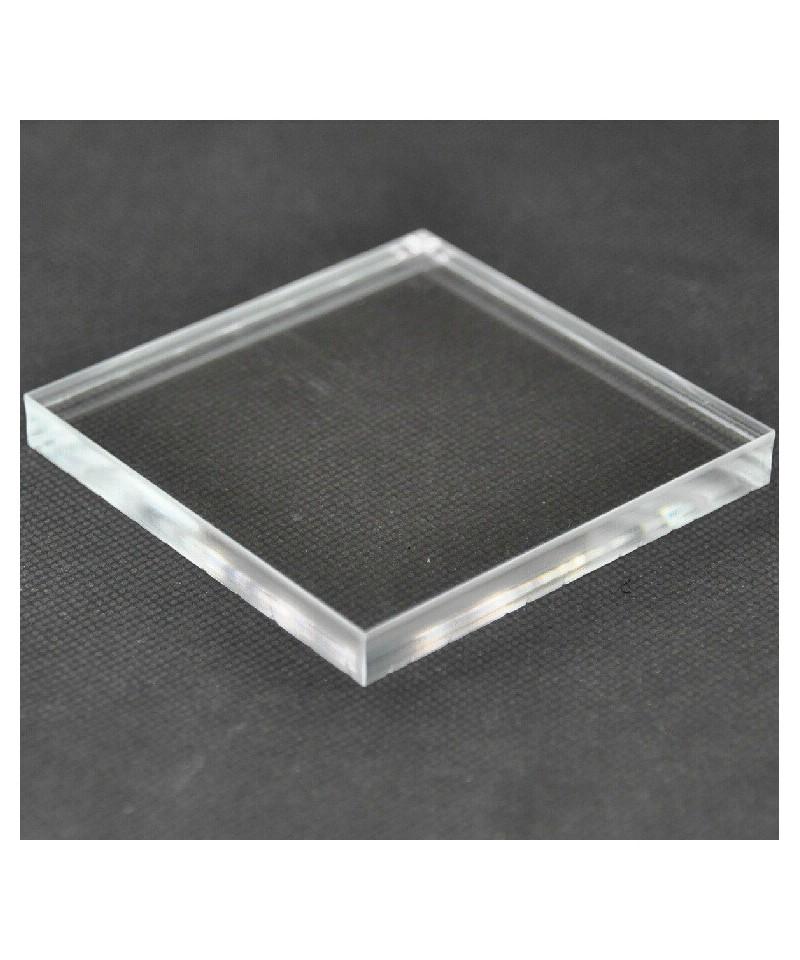 Transparent acrylic plates, lucite bases for dentals technicians