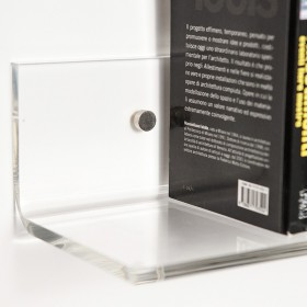 Clear acrylic shelves 95x20