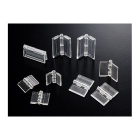 Cerniera piccola in plexiglass - 2 pz