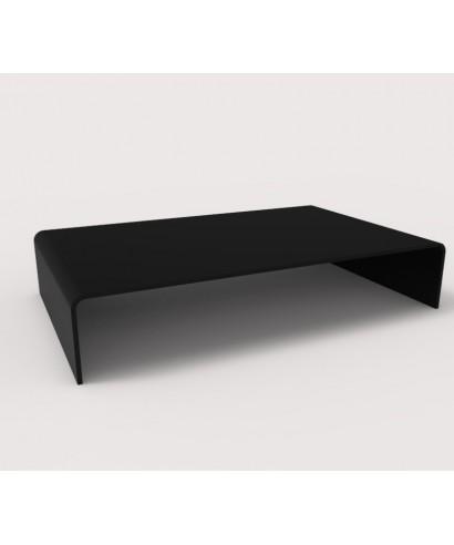 Supporto cm 50x30h10 alzatina in Plexiglass Nero