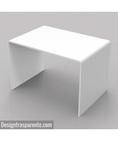 Tavolino design bianco