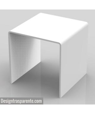 Tavolino bianco moderno