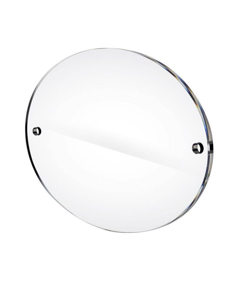 Targa in plexiglass cm 40x30 ovale