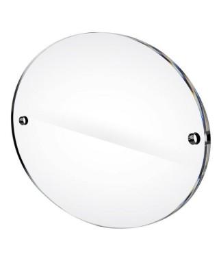 Targa in plexiglass cm 30x20 ovale