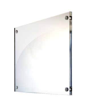 Wall perspex office plate 40x30 cm