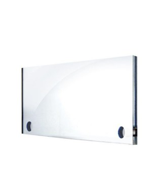 Wall perspex office plate 30x20 cm oval