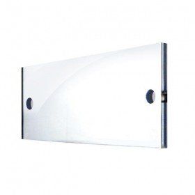 Wall perspex office plate 13x8 cm