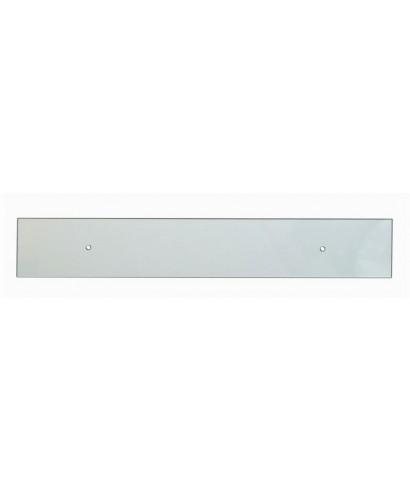 N. 26 fasce battisedia su misura - paracolpi in plexiglass trasparente