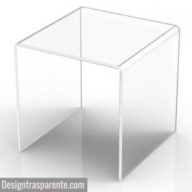 Transparent acrylic shower stool chair for bathroom