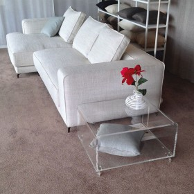 Clear console in storage 70x59 h:45