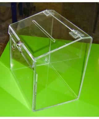 Box Urna Trasparente angoli piegati