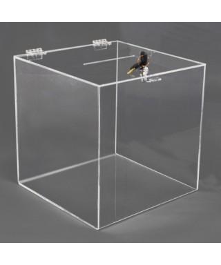 Box Urna Trasparente 30x30h30