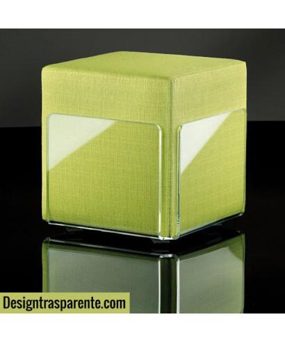 Sgabello plexiglass trasparente