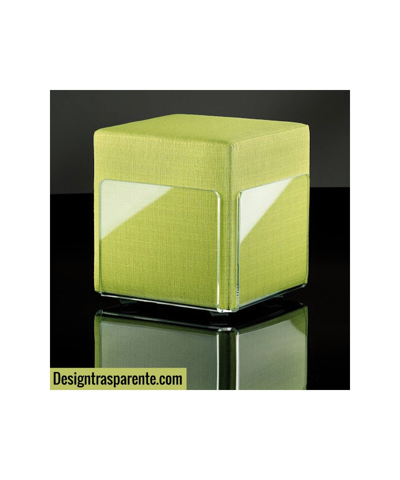 Perspex Acrylic Stool 40x40 h:45