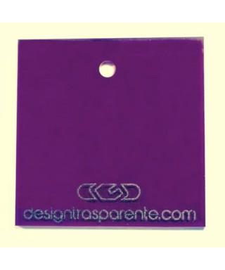 Lastra plexiglass viola trasparente acridite 420