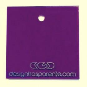 Lastra plexiglass viola trasparente acridite 420 su misura