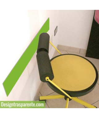 Fasce paracolpi verde 99 cm battisedia in plexiglass