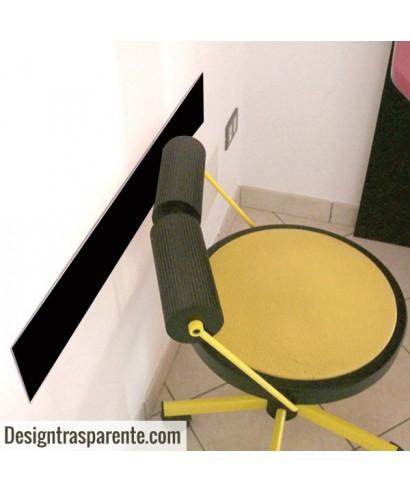 Paracolpi in plexiglass