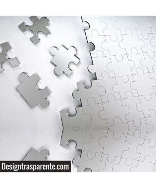 Espejo Puzzle 60x40 cm en metacrilato irrompible