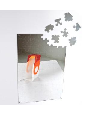 Specchio Puzzle 60x40 in plexiglass infrangibile