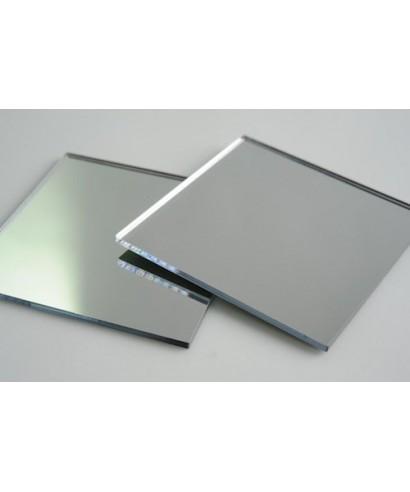 Lastra plexiglass specchio argento pannello su misurao