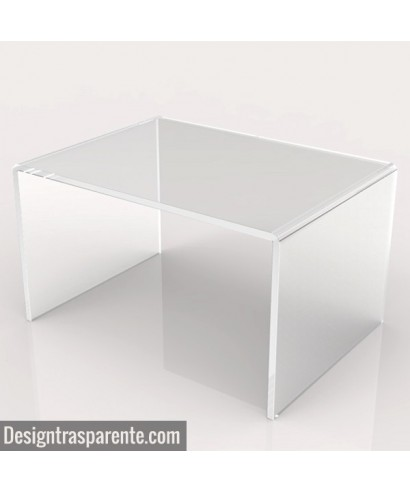 Acrylic coffee table 70x50 h:40
