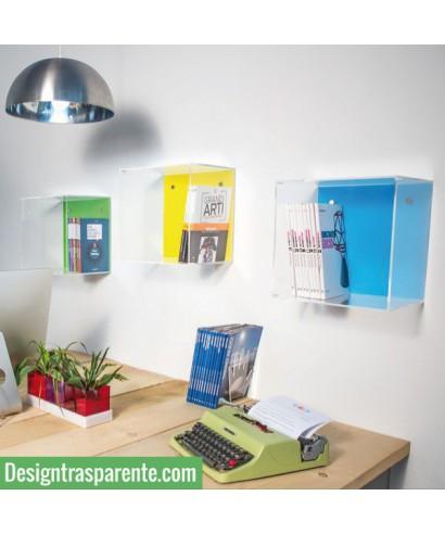 Cubi in plexiglas, complementi di arredo e decorazioni di Natale