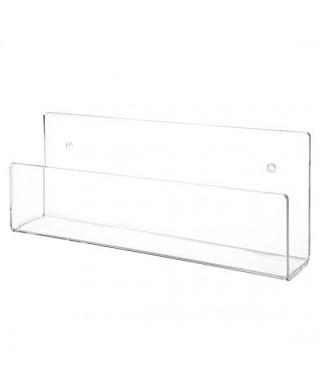 OFFERTA N. 3 mensole cm 70x10 per libri e cataloghi in plexiglass trasparente