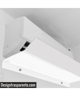 Deflettore aria condizionatore 90 cm Bianco- offerta