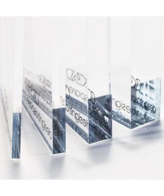 Lastra Plexiglass Trasparente 74x24 sp. 5mm