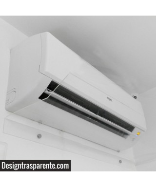 OFFER N°2 Acrylic Air Conditioner Deflector 70 cm - transparent