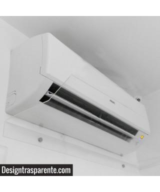 OFFERTA N°2 deflettori 70 cm in plexiglass trasparente - deviatori per aria condizionata