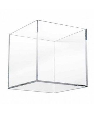 Teca 30x25h30 cm - vetrina in plexiglass trasparente