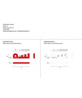 Gadget personalizzato - n. 228 portachiavi
