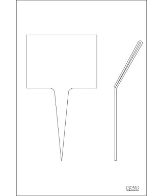N.120 tasche porta cartellini in plexiglass trasparente, su misura