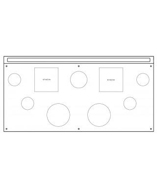 espositore cosmetica 42x21 in plexiglass trasparente