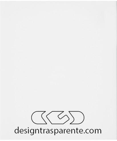 Lastra plexiglass bianco coprente gesso acridite 190 su misura