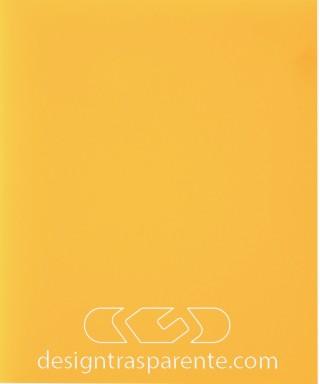 Lastra plexiglass giallo ocra pieno acridite 742 su misura