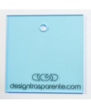 Lastra plexiglass azzurro trasparente