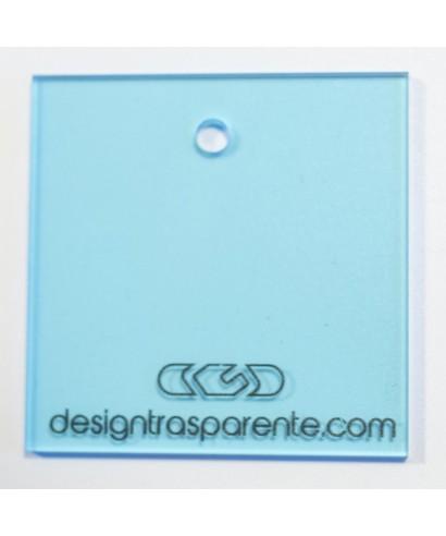 Plexiglass 3 mm azzurro trasparente 610 acridite cm 150x100