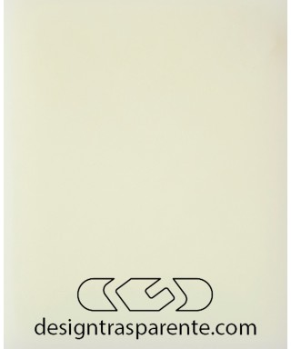 Plexiglass 3 mm bianco avorio crema chiaro acridite 771 cm 150x100