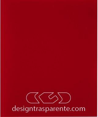 Plexiglass 3 mm rosso pieno non trasparente - diffusore acridite 332 cm 150x100