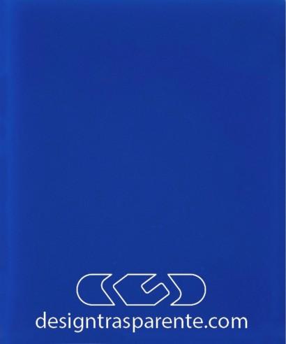 Lastra plexiglass blu cobalto - azzurro diffusore pieno acridite 540
