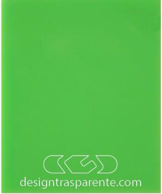 Plexiglass 3 mm verde acido non trasparente - diffusore acridite 292 cm 150x100