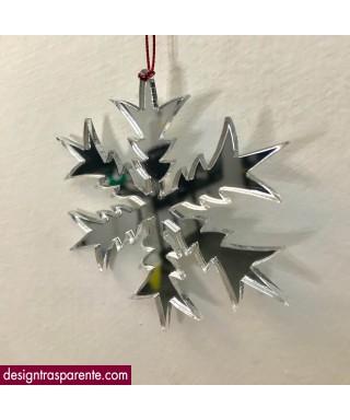 Decorazioni di Natale -  6 addobbi natalizi in plexiglass specchio