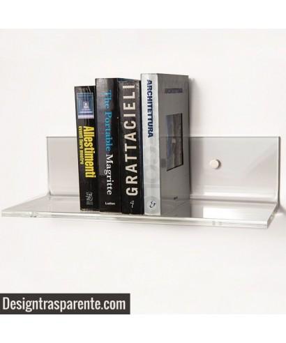 Clear acrylic shelves 95x20