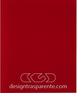 Protector de pared rojo cm 99 de metacrilato